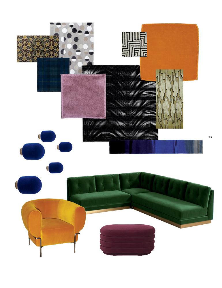 Home decor trends - Velvet jewel tone