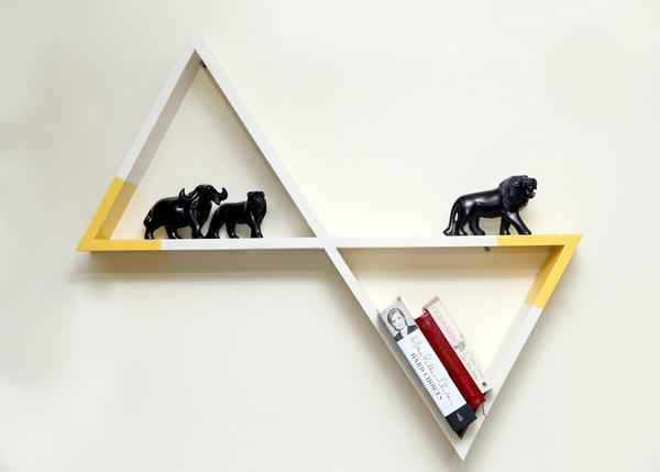 Lola Triangular Wall Shelf