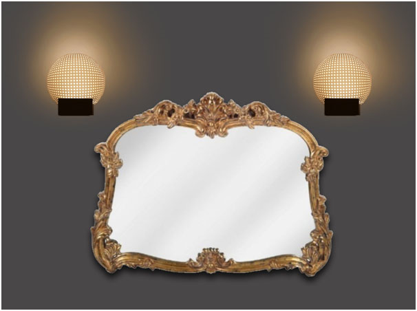 Modern Tradition Mirror