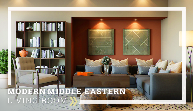 Perfect Modern Middle Eastern Living Room
