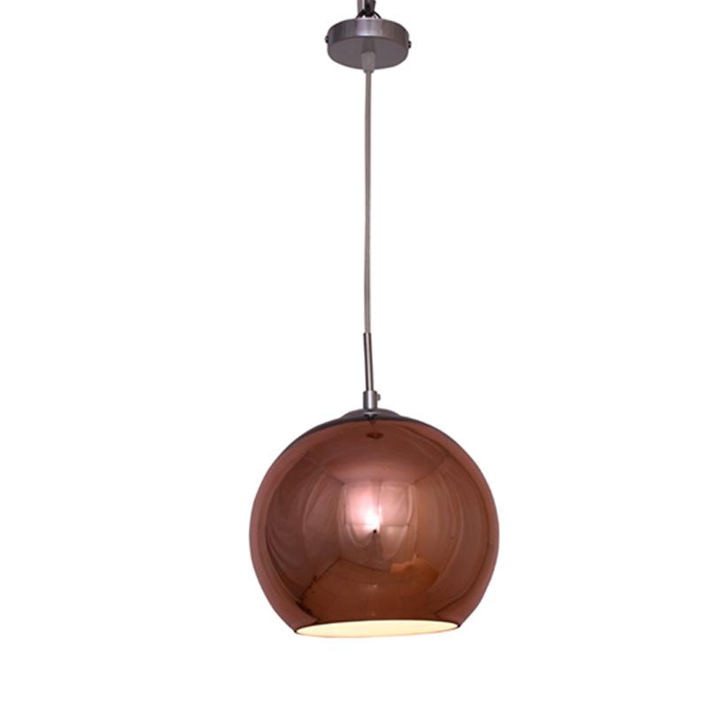 round reflective hanging light