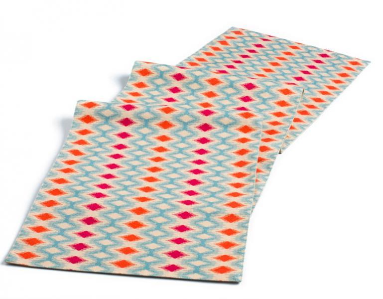 Spectrum Ikat Table Runner.jpg