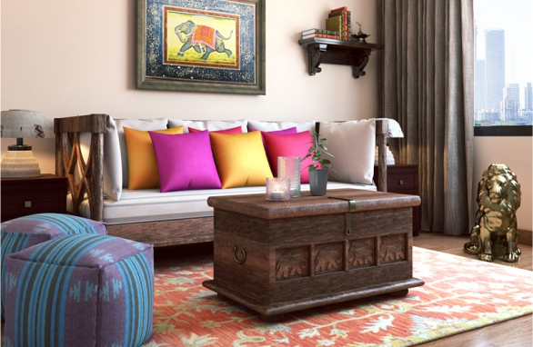 Charmant Traditional Indian Modern Living Room