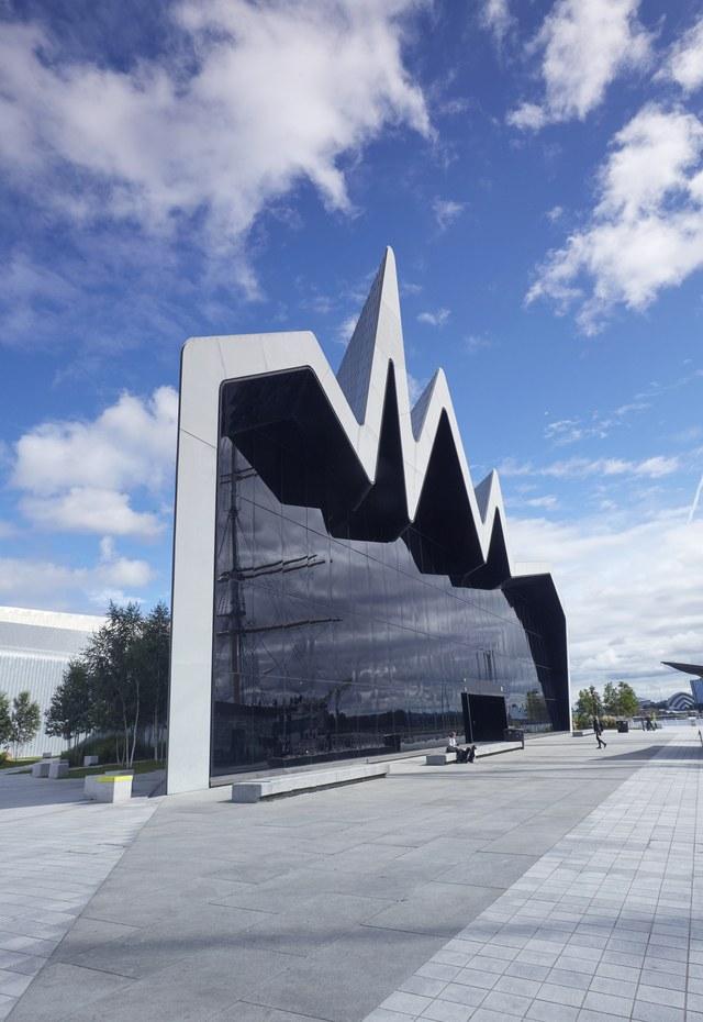 The riverside museum Scotland