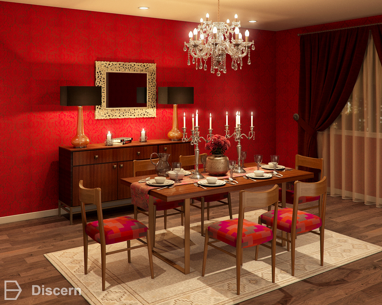 Bollywood Inspired Dining Room