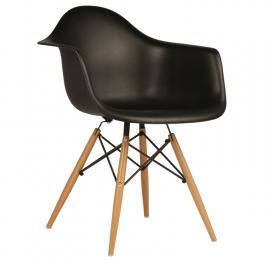replica-eames-daw-armchair-in-plastic-black-color