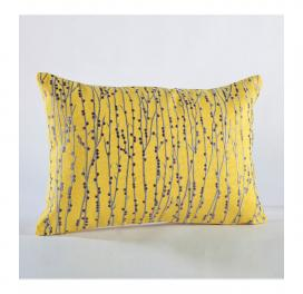 canary-yellow-emb-bark-rectangle-cushion