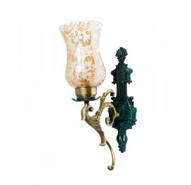 regal-green-patina-and-golden-single-wall-sconce