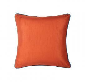 plain-cushion-cover-rust-orange-with-teal-cord-piping
