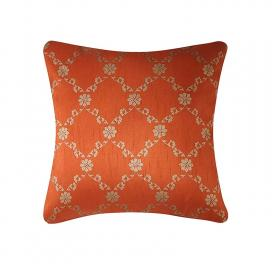 traditional-ethnic-gold-printed-rust-orange-cushion-covers