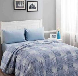 reversible-100-gsm-highland-double-quilt-blue