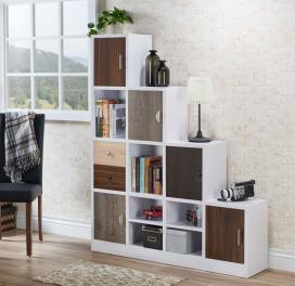 white-multi-storage-staircase-bookcasedisplay-shelf