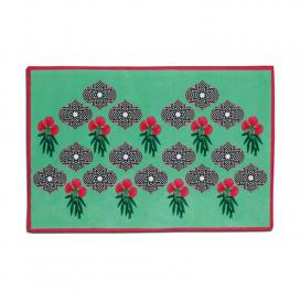 floral-green-table-mat-set-of-1-teal