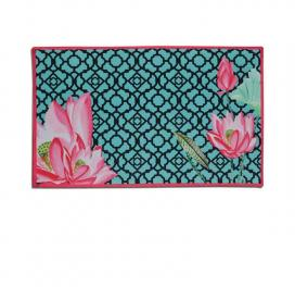 floral-green-table-mat-set-of-1-turq