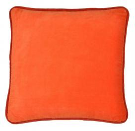 home-boutique-velvet-cushion-cover-orange