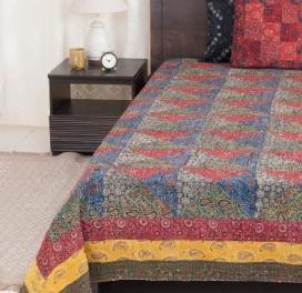 blue-cotton-gudri-ramnik-bed-cover-double
