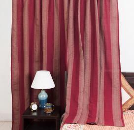maroon-cotton-woven-mahima-curtain-window