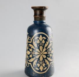 terracotta-hand-painted-vase