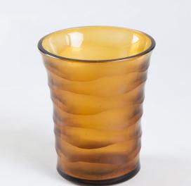 brown-drinking-honeycomb-tall-glass