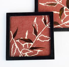 red-wood-handmade-paper-coasters