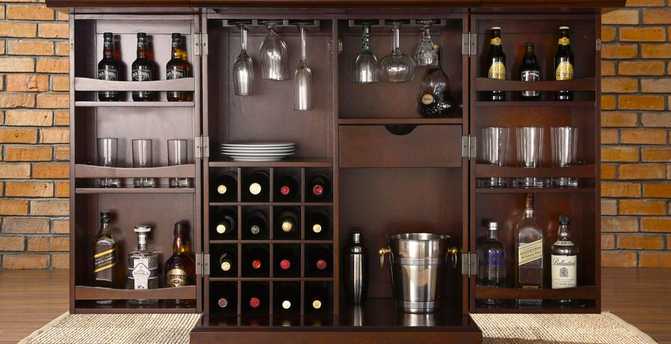 Home Decor 101: How to Build Your Own Bar   Discern