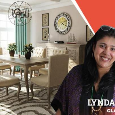 Classic Rustic Dining Room: Look Endorsed by Lynda D'Souza