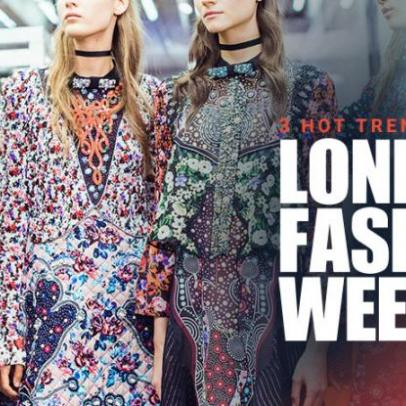 Three Hot Trends from London Fashion Week