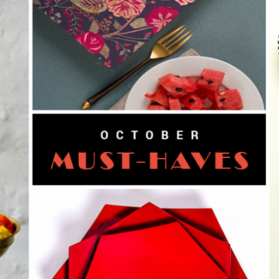 October Must-Haves