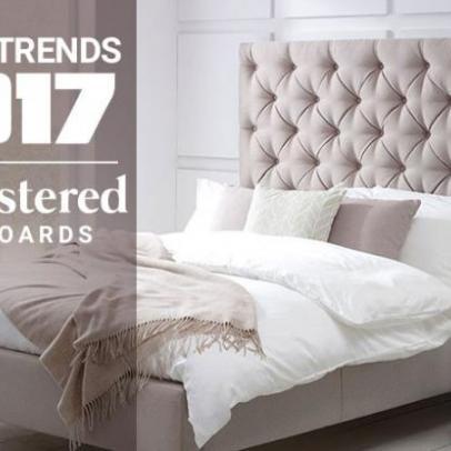 2017 Trend: Upholstered Headboards