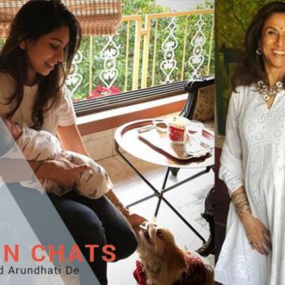 Discern Chats with Shobhaa De & Arundhati De Sheth