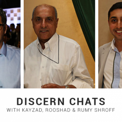 Father's Day: Discern Chats with the Shroffs