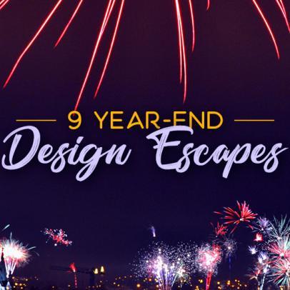 9 Year-End Design Escapes