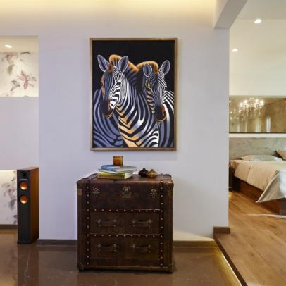 A Contemporary, Glam Home by Architect Kunal Barve