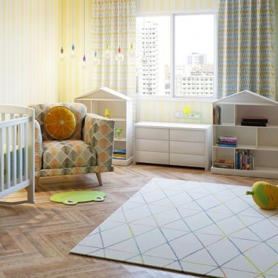 Modern-Trendy Nursery Ideas for Young Moms