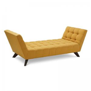 Chequered Bench - Mustard
