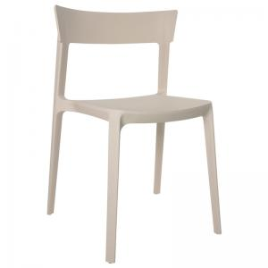 Husk Cafeteria Chair Mild Gray Color