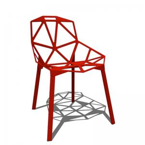 Magic Chair Replica Cafeteria Chair Red