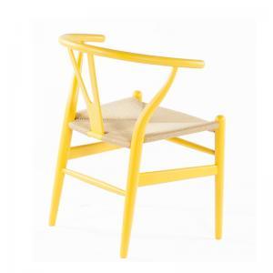 Hans Wegner Wishbone Chair Replica Yellow Matt