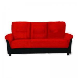 Jithiya Sofa - Three Seater - Red