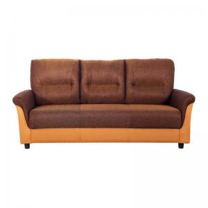Jithiya Sofa - Three Seater - Brown