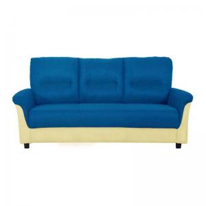 Jithiya Sofa - Three Seater - Blue