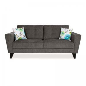 Bristol Brilliant Sofa Three Seater - Grey