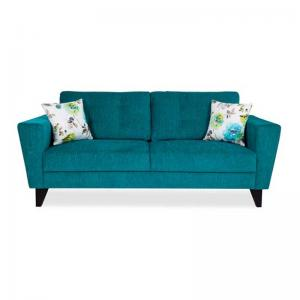 Bristol Brilliant Sofa Three Seater - Turquoise