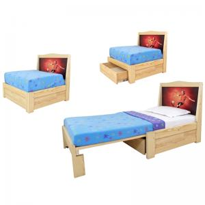Single Pullout Bed - Small