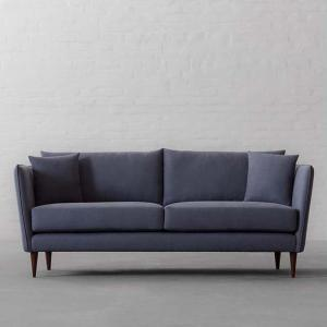 Norway Sofa Collection 3 Seater-Gir Steel Cotton Linen Blend