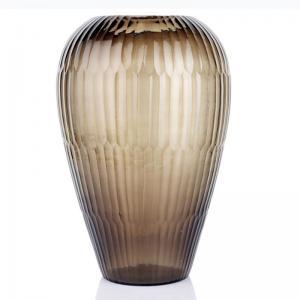 Smokey Cascade Vase