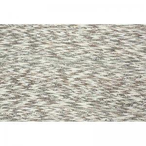 Notion Wool and Viscose Rugs 5X8 - Natural Taupe And Ivory
