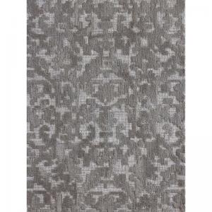 Over Tufted Natural, Grey Wool Ebro Rug