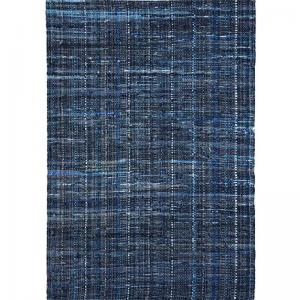Hand Woven Denim Recycled Fabric & Denim Harris Rug
