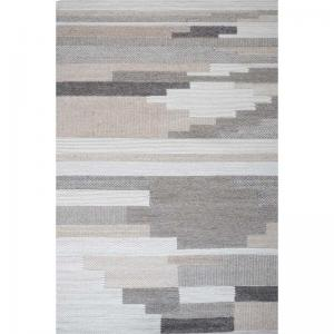 Hand Woven Natural Felted Wool Houston Rug 4x6